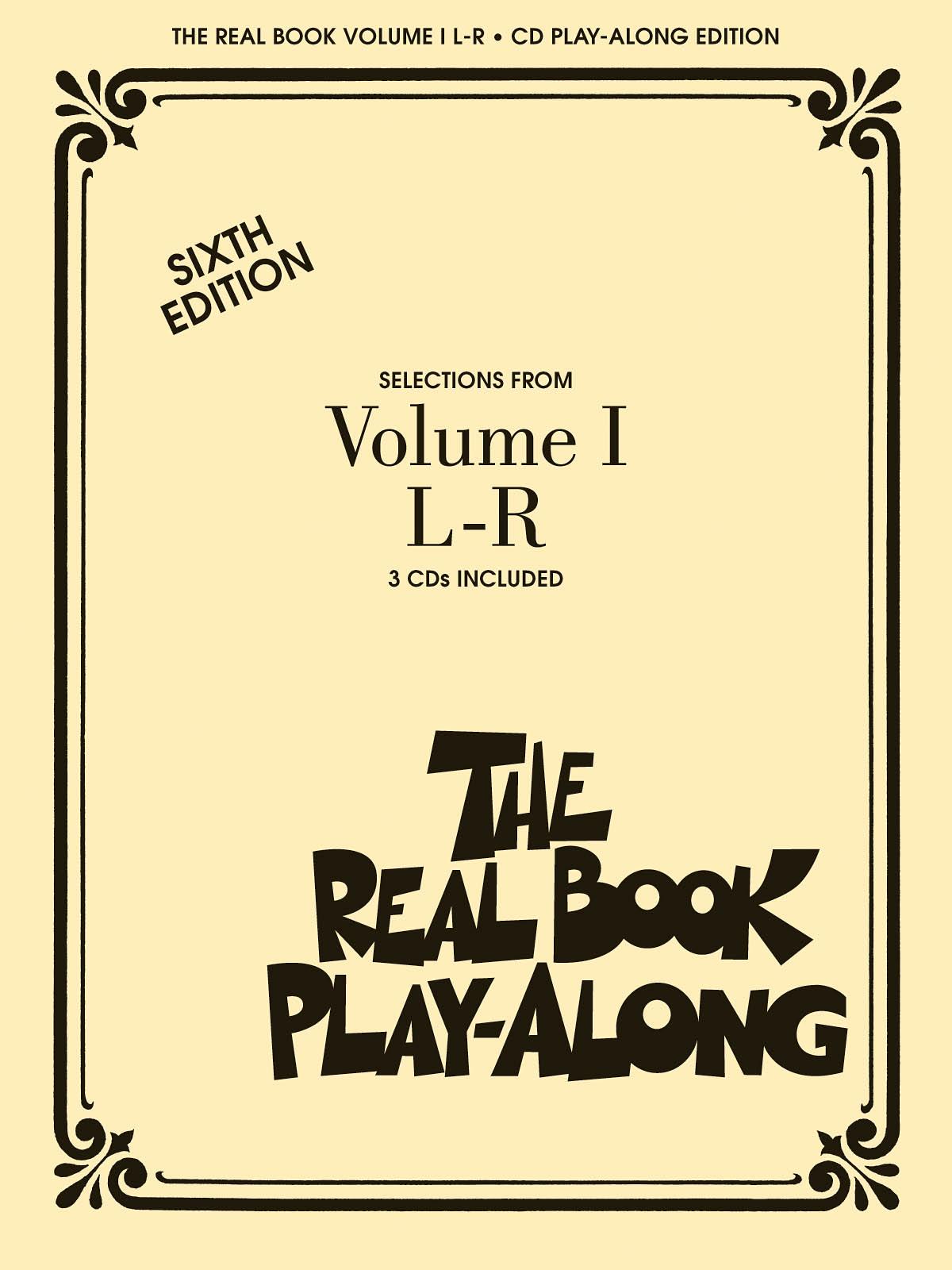 Real Book Play-Along Vol.1 L-R