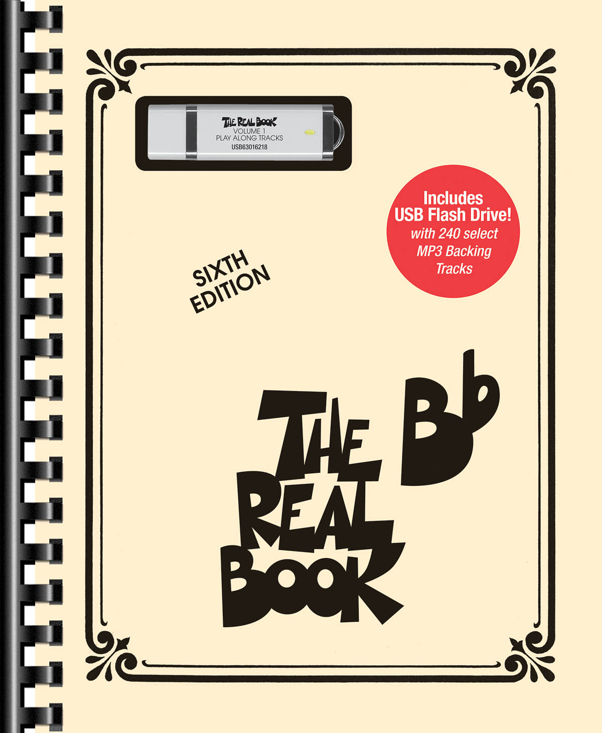 Real Book Vol. 1  Bb Bk/Flash Drive