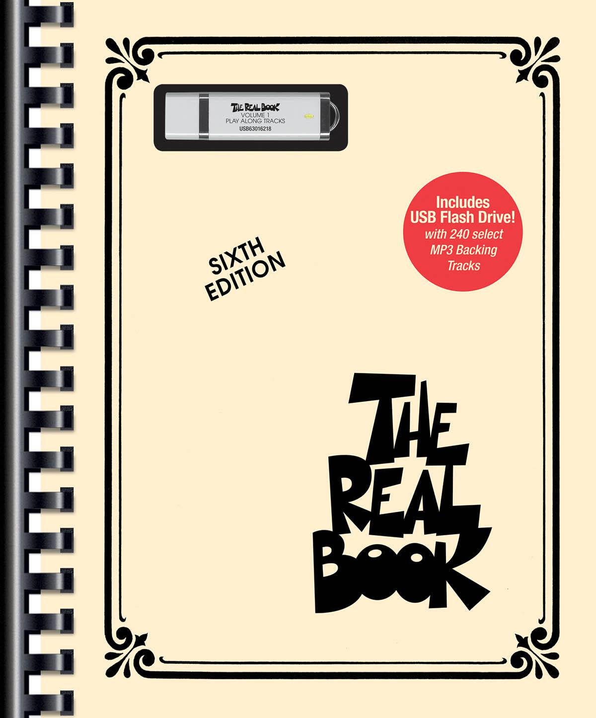 Real Book Vol. 1  C Bk/Flash Drive
